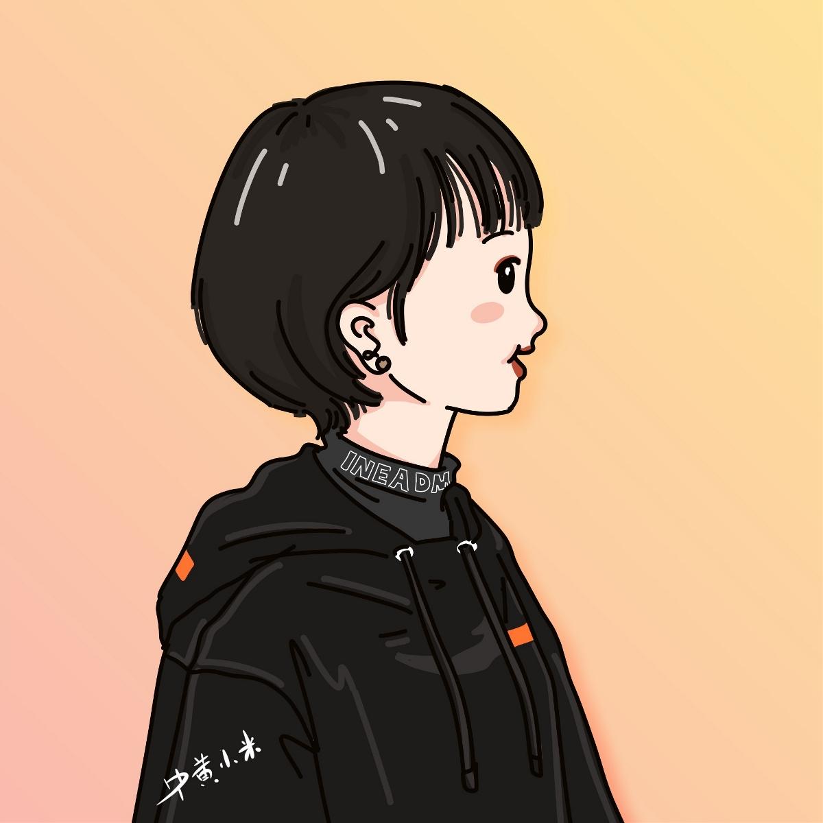 ipad插画卡通头像 2019大合集图片