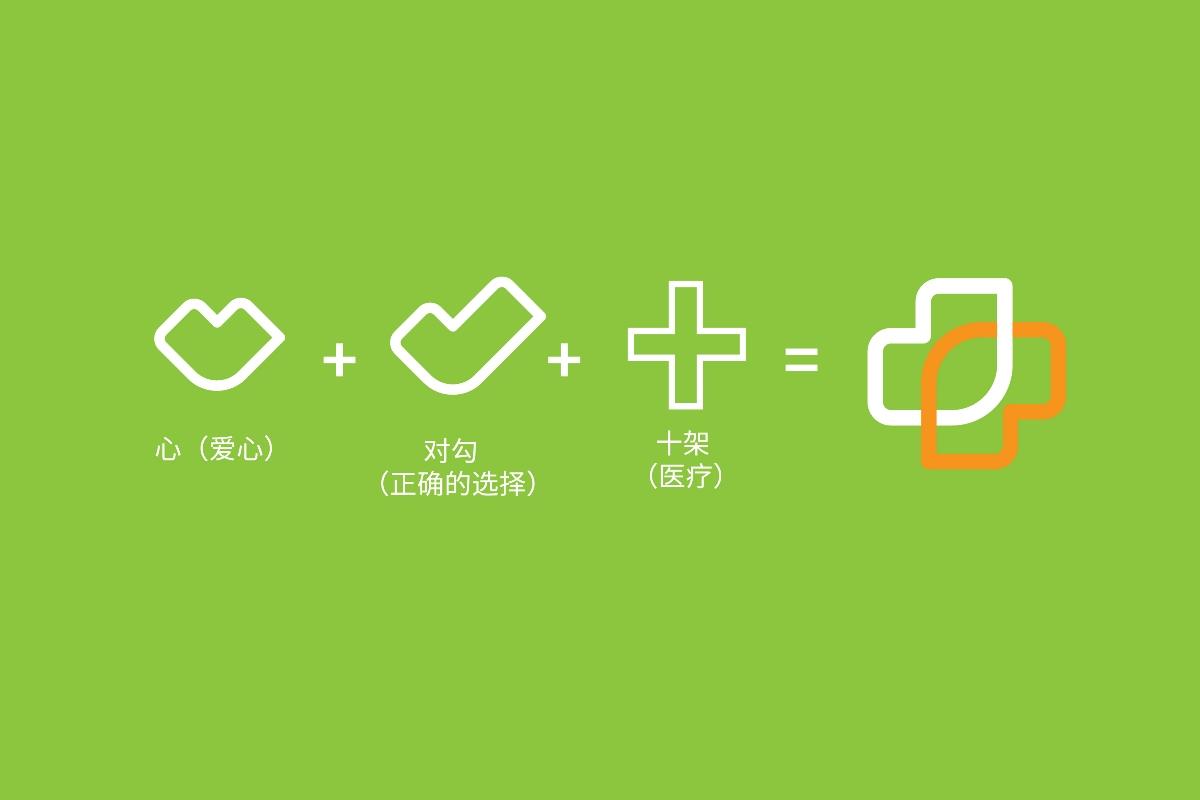 约稿信_生命健康医院医疗集团公司连锁企业图标LOGO标志字体商标设计-第 ...