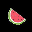 抱着夏天吃西瓜╮