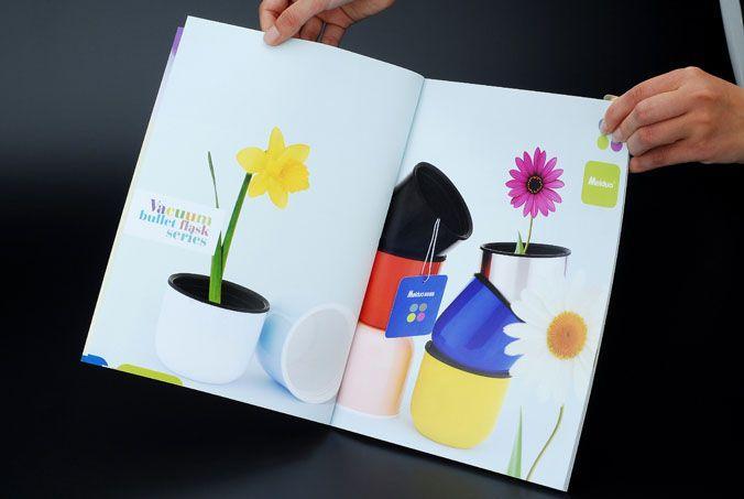一本色彩艳丽的杯子画册