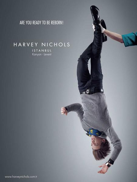 HARVE YNICHOLS广告欣赏