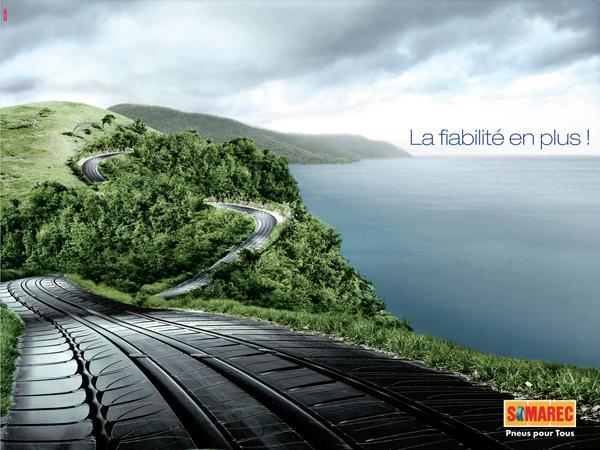 Somarec创意轮胎广告