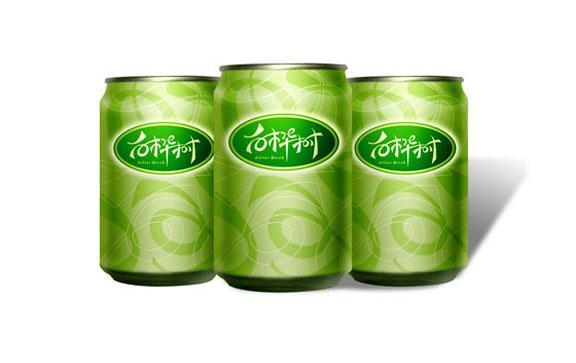 白桦树饮料品牌标志