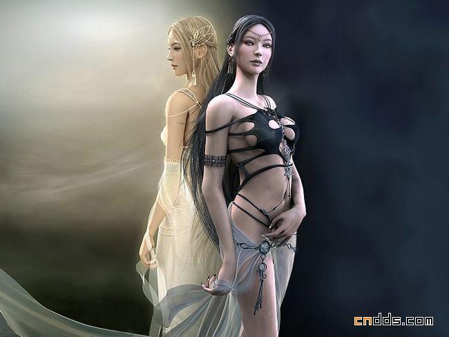 游戏人物角色设计