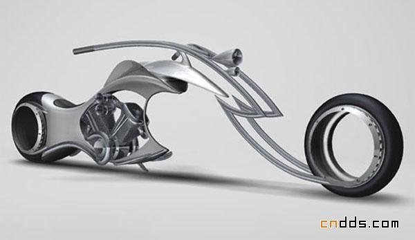 概念摩托车设计