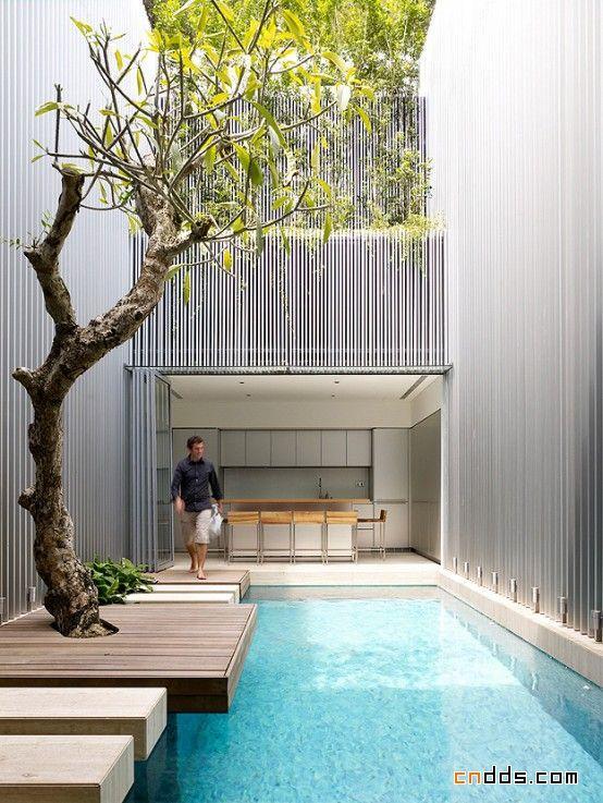 新加坡现代简约的室内设计