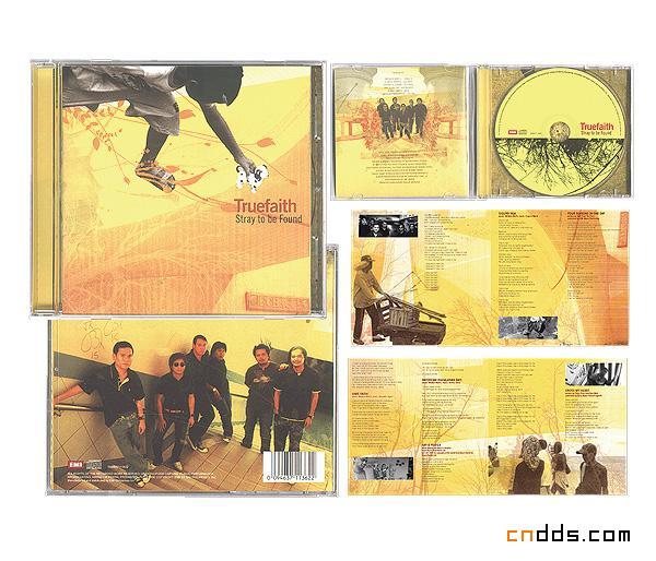 Inksurge CD包装设计