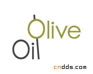 字母O标志设计