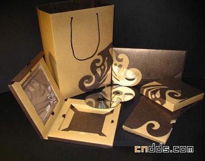 湖南工大包装设计纸盒结构作品