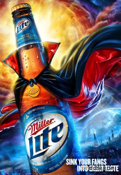 设计灵感系列之啤酒广告