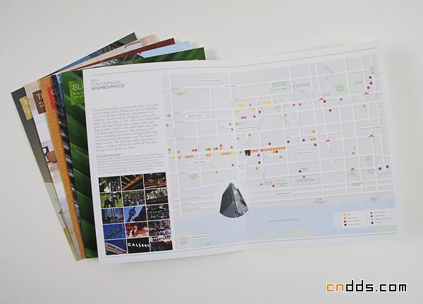 多伦多M5V公寓楼书设计欣赏