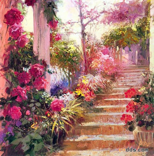 意大利畫家Pino Daeni油画作品欣赏
