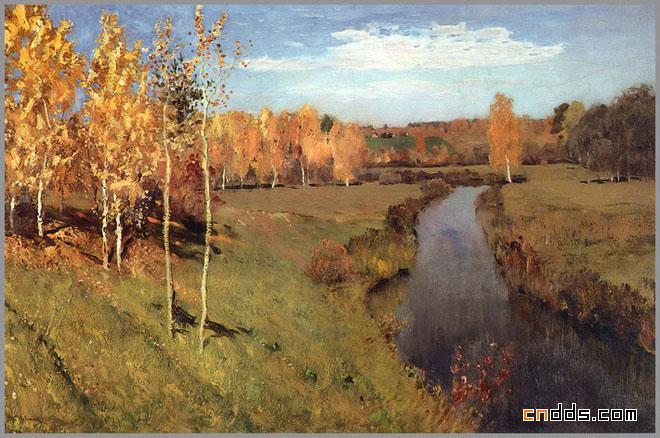 俄罗斯风景油画欣赏