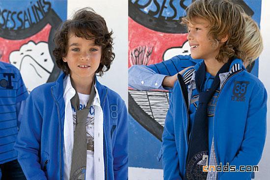 2010春夏新品 Terre bleue童装系列
