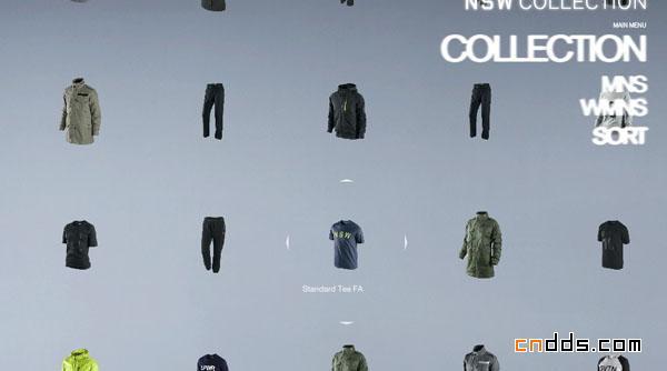 [酷站推荐]Nike Sportswear
