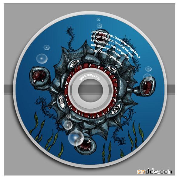 4款涂鸦光盘封面设计欣赏
