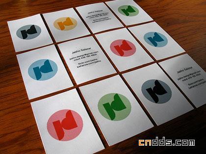 25款国外创意名片设计