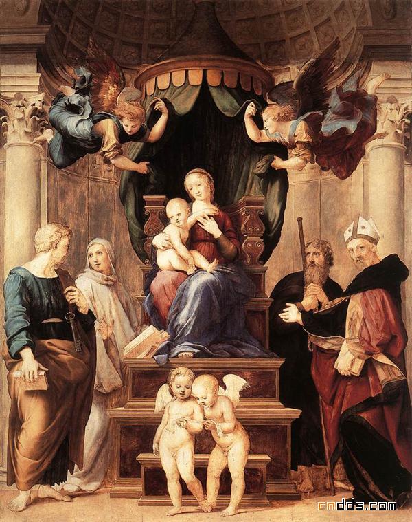 拉菲尔油画欣赏