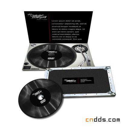 14款创意CD/DVD包装设计