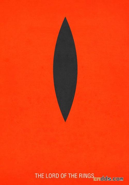 极简风格的电影海报系列