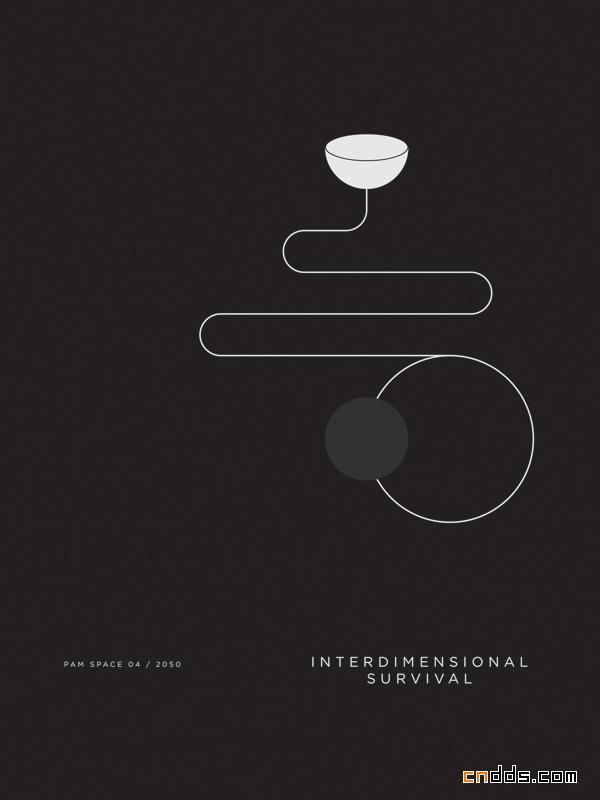简洁海报 趣味不减-paul tebbott平面设计