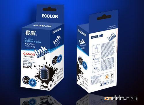 一组独特的墨盒包装设计ios圆弧线绘制图片