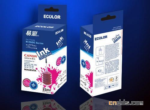 一组独特的墨盒包装设计汕头融创包装设计图片