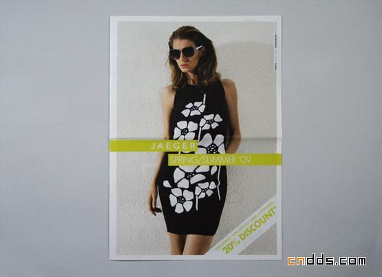 50个创意服装画册设计