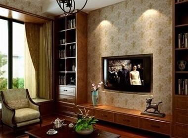 一套经典美式家装效果图