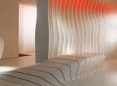Corian Lounge超曲面展厅----阿曼达