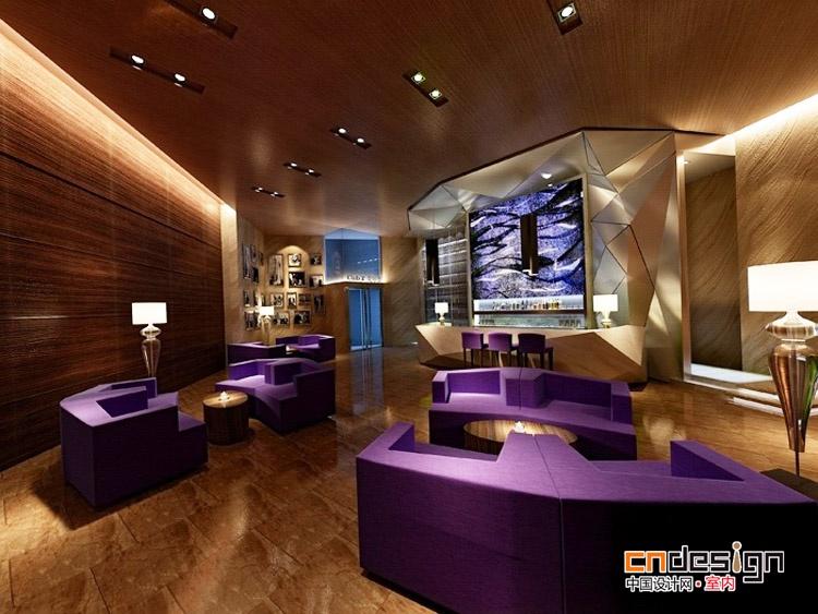 酒店娱乐样板间效果图-中国设计网