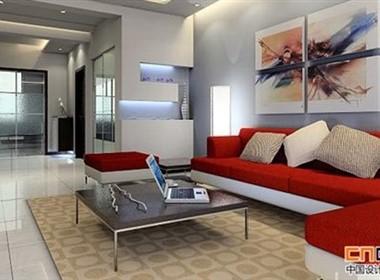 现代客厅欣赏