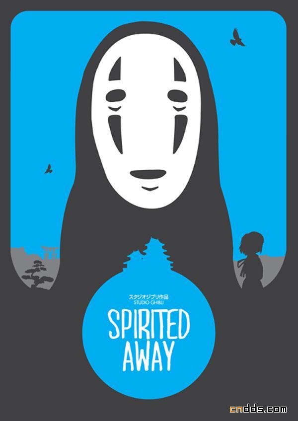 5张简约风格的电影海报设计
