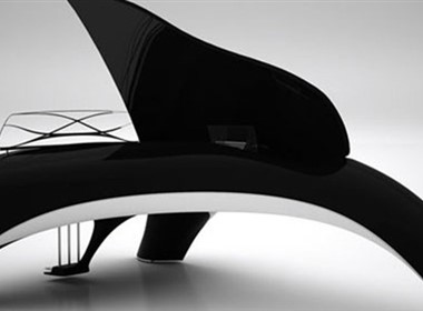 漂亮的海豚钢琴