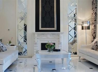 黑白灰的新古典家装设计