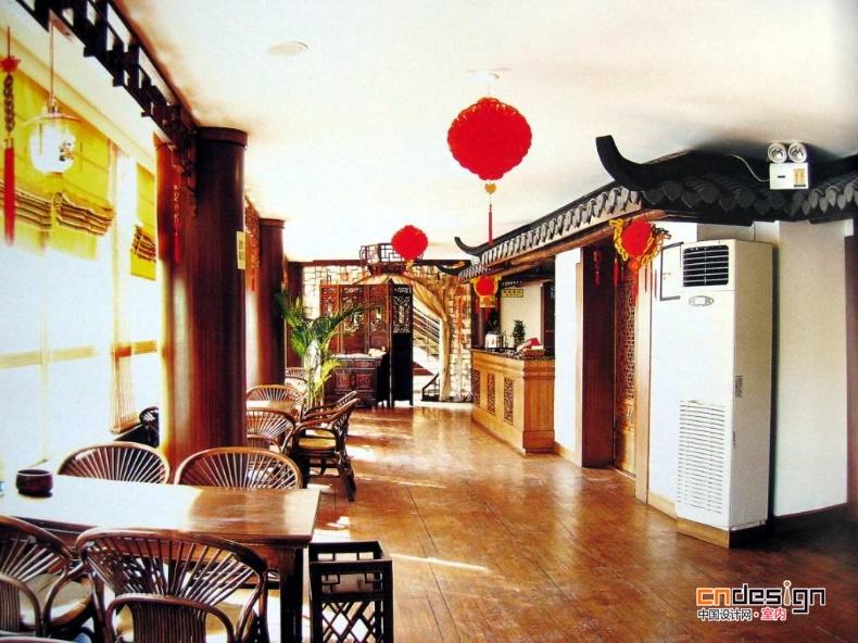 中式茶馆装修设计效果图集锦