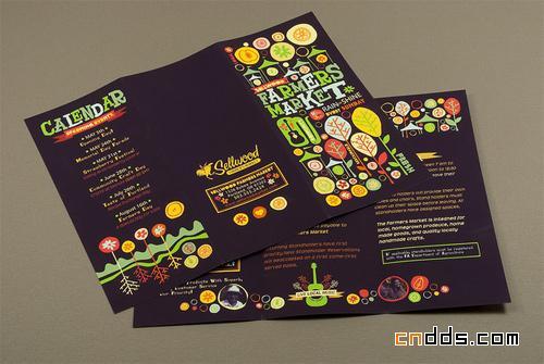 30款国外折页和宣传画册设计