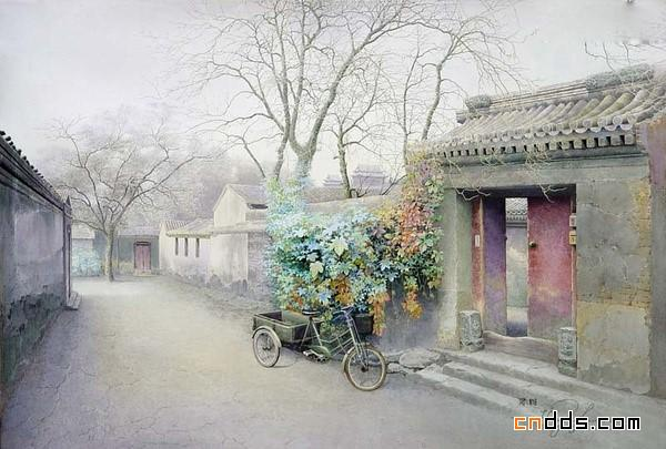 残存在画作中的老北京