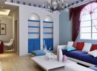 干净明亮的地中海现代室内设计