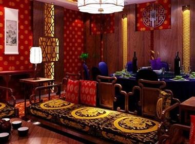现代中式餐厅室内设计欣赏