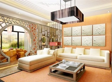 现代中式室内设计欣赏(二)