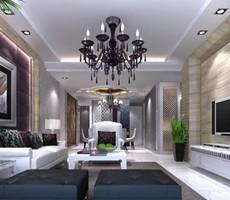 一组简约风格的客厅设计