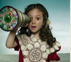 孩子的幻想 摄影作品