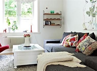 北欧风格的白色简约室内设计(二)