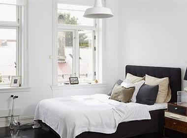 简单的白色室内设计欣赏(二)
