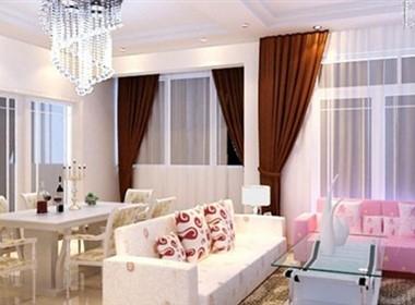 时尚亮丽的现代室内设计