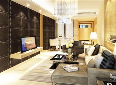 中西结合的现代室内设计