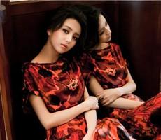 佟丽娅最新时尚写真