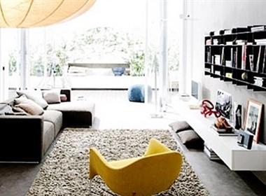 简单时尚的室内设计效果图欣赏