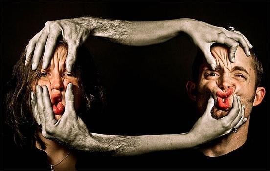 震慑视觉的新超创意夫妻摄影作品